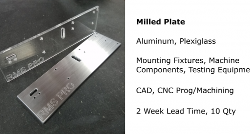 milled plates